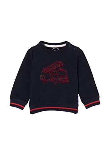 s.Oliver Junior Jungen 405.12.012.14.140.2056355 Sweatshirt, Blau(5952), 86