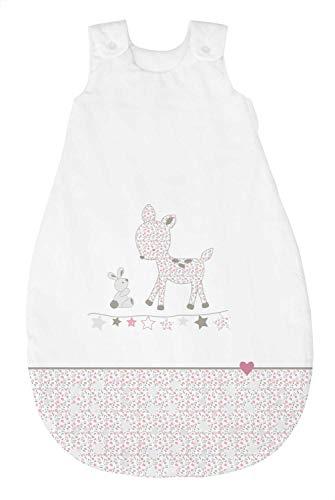Bebella vital 289780 Tencel - Saco de dormir para todo el año (70 cm), color rosa