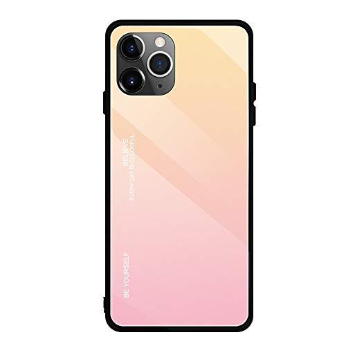 Caso de Cristal Templado de gradiente for el iPhone XR XS MAX...
