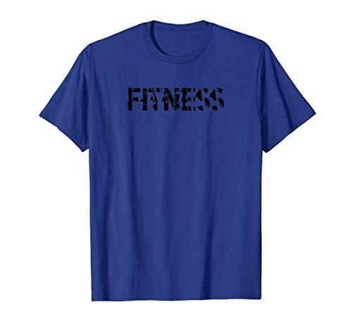 Mens FITNESS - Gym Fitness Workout Motivational Design F204 T-Shirt