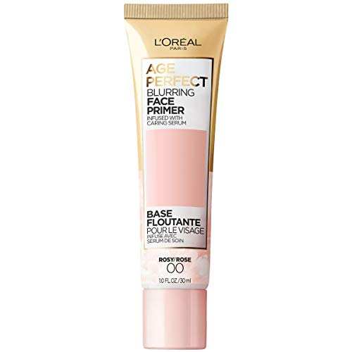 L'Oreal Paris Age Perfect Blurring Face Primer, Infused with Caring Serum, 1 fl. oz.