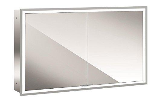 Emco asis LED-Spiegelschrank Prime, up 1200 mm, 2-türig, Rückwand Spiegel