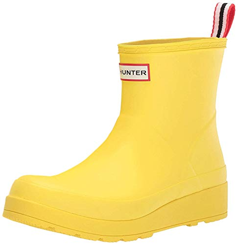 Hunter, Stivaletti da pioggia da donna, bassi, Giallo (Wader Yellow), 35.5 EU