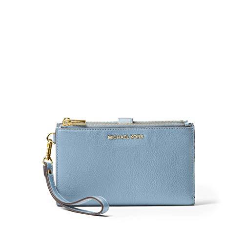Luxury Fashion | Michael Kors Dames 34F9GAFW4L487 Blauw Leer Portemonnees | Lente-zomer 20