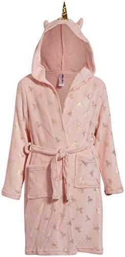 Limited Too Girls Robe Hood, Unicorn, Size 10/12''