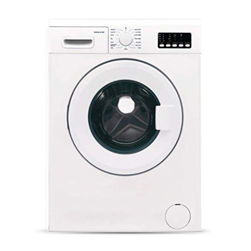 Hafele Marina 6010 W, 6kg Fully-Automatic Front Loading Washing Machine with Anti Allergenic Programme, 15 Smart Wash Programs, 1000RPM Spin Speed, White