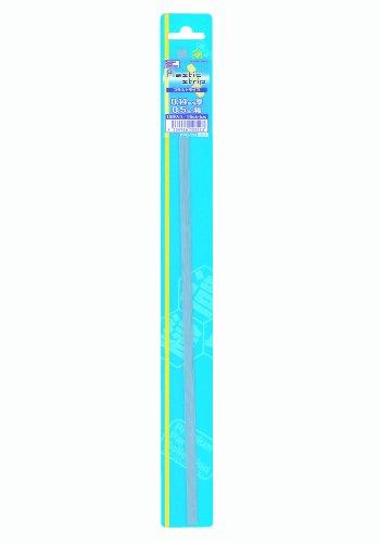 ホビーベース プラストライプ 0.14mm厚 0.5mm幅 15本入 ホビー用素材 PPC-T52
