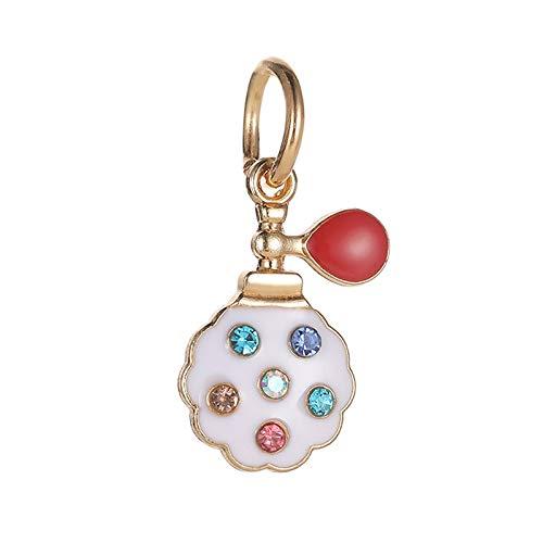 Pandora 925 Silver Beads Charm Dangle New Arrived Colorful Crystal Perfume Bottle Colgantes Fit Pulseras Brazaletes para mujeres Joyas Regalo del día de las madres con elegancia discreta
