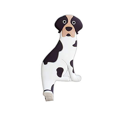 JSJJARD Iman de Refrigerador Perro de Dibujos Animados Lindo Animal magnético imán Magnet Creativo Dibujos Animados magnético inconsútil Pegatina magnética Gancho (Color : 05)