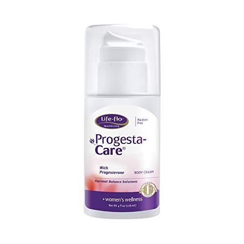 Life-Flo Progesta-Care w/USP Progesterone from Wild Yam | Body Cream for a Woman's Optimal Balance | No Fragrance | 4oz