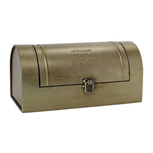 SPICE OF LIFE(スパイス) 収納箱 ブリキラウンドツールボックス ふた付き GESHMACK マットシルバー 32.5×15×15cm 道具入れ 救急箱 裁縫箱 GFA604
