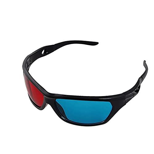 Universalblaue und rotes 3D-Gläser für Heimgebrauch TV-Kino 3D-Spiel