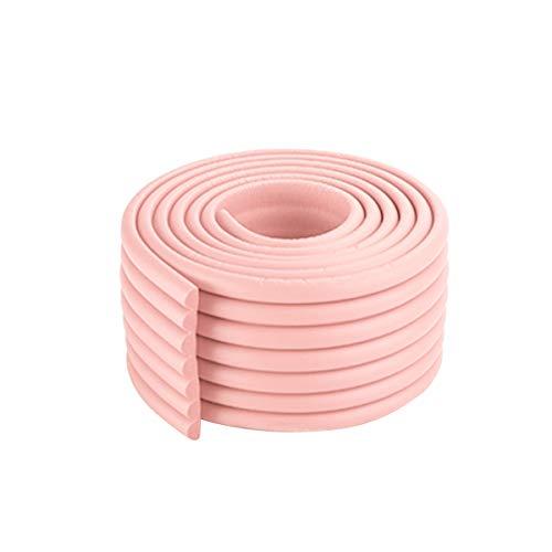 NCONCO Protectores de esquina para niños, tiras de seguridad de espuma, color rosa