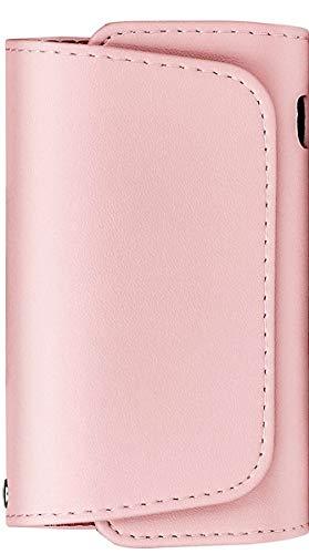 Custodia sigaretta elettronica 3.0 di alta qualità, Astuccio protettivo in pelle PU di colore Rosa. Morbida, universale e piccola.