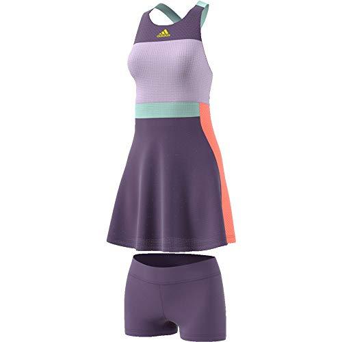 adidas Dress Heat.Rdy Vestido, Mujer, purtec/amasho, S