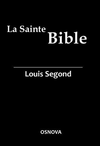 Kindle French Bible – La Sainte Bible (Louis Segond with DVJ) (French Edition)