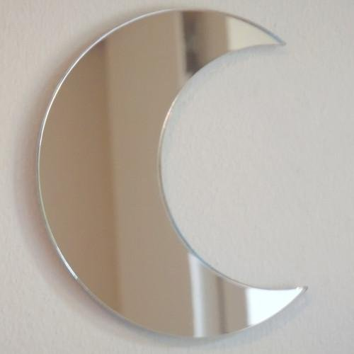 Servewell Moon - Specchio da parete, 35 x 30 cm