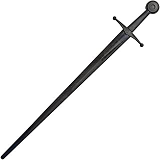 Red Dragon Armoury Synthetic Single Hand Sparring Sword - Black Blade & Hilt