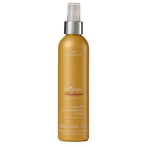 Ultimate Radiance Leave-In Conditioning Styler, 8.5 oz - Regis DESIGNLINE - Deep Conditioner Treatment that Reconstructs Damaged Hair and Repairs Split Ends (8.5 oz)
