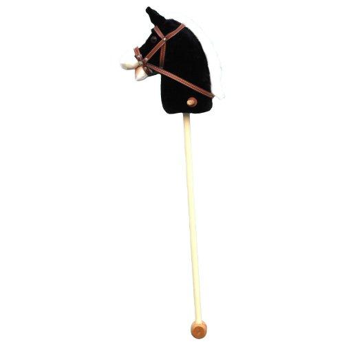Babywalz - Caballo de encajar, color negro
