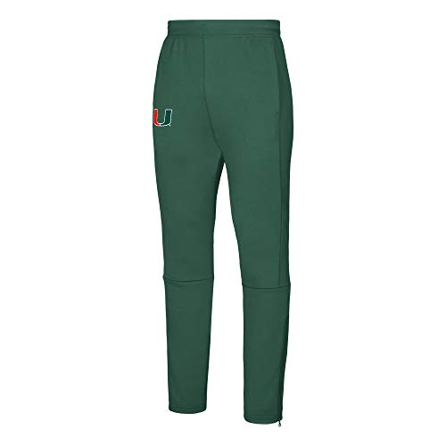 adidas Mens Locker Room Finished NCAA-Pantalón para Hombre, Verde, Extra-Large