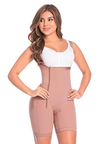 11048 Womens Mid Thigh Body Shaper (Cocoa-optic, XX-Small)