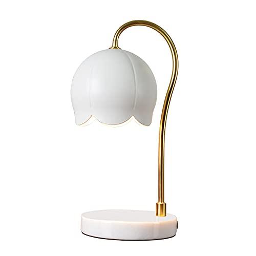MagiDeal Lámpara eléctrica de la Fragancia del Calentador de la de la Vela Oficina de la luz Decorativa de la Mesa de Dimmable
