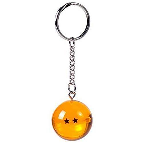 Portachiavi 3D Dragon Ball Z (2 Stelle) - Dragon Ball Z