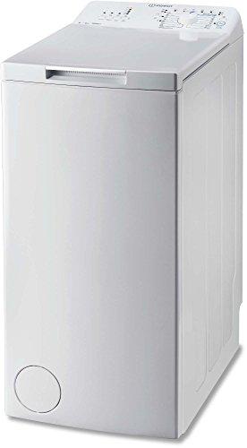 Indesit - btwa61053eu - Lave-linge top 40cm 6kg 1000t a+++ blanc