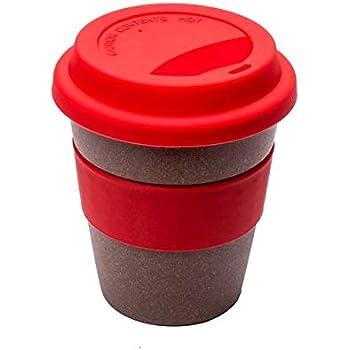 MojoLife Bamboo-derived rayon Sipper Mug - 1 Piece, Red, 350 ml