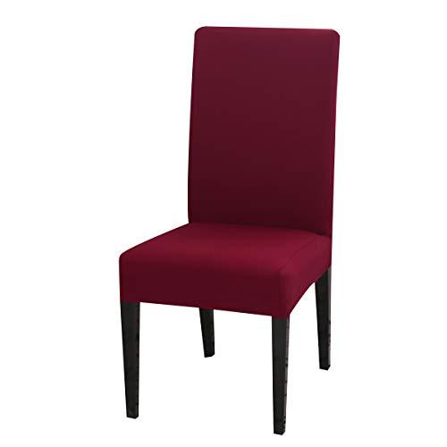 Padgene Universal Stretch Stuhlhussen, Abnehmbare Stuhlbezug Sitz Stuhl Esszimmer überzug Stuhlüberzu Abdeckungen Hussen für Husse Hotel...