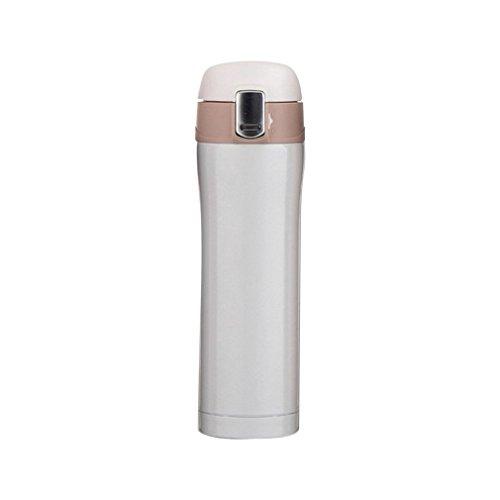 Greens - Botella de agua de acero inoxidable con aislamiento al vacío (500 ml)