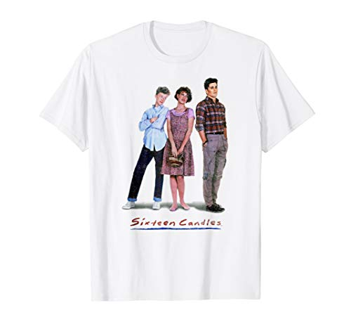 Sixteen Candles Classic Film Poster Vintage Graphic T-Shirt