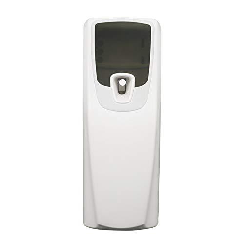 BFY - Pulverizador de fragancia con sensor de luz LED, dispensador de aerosol automático para inodoro, ambientador para el hogar con dispensador de perfume en latas vacías