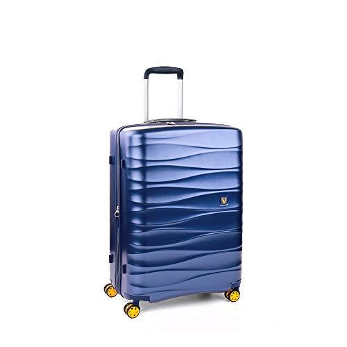 RONCATO Stellar trolley rigido espandibile medio tsa Blu navy