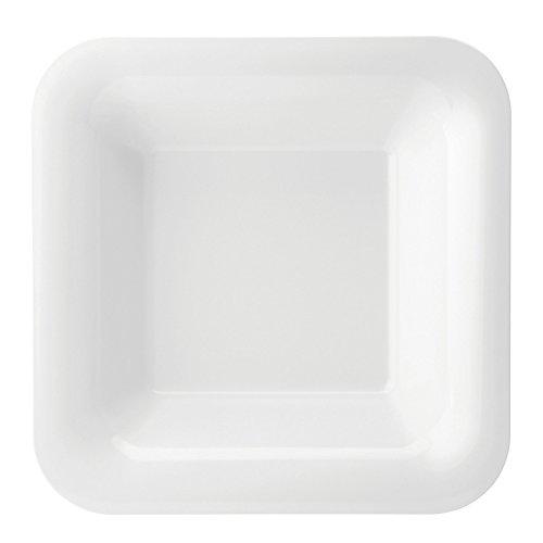 Utopia Melamine Gastronorms & Buffetware, JMB077-WHI000-B01006, Melamine Square Deep Plate 14