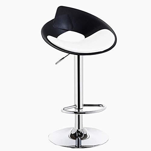 Alvnd Barkruk, 360 graden draaibare barstoel, barkruk, hoge stoel, home coffee, front bureaustoel, bar rugleuning, hoge stoel, Pub Bistro Kitchen, dining stoel, in hoogte verstelbaar van 57 tot 77 cm