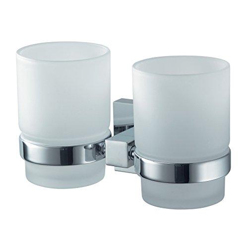 Doppelglashalter Mezzo Chrome
