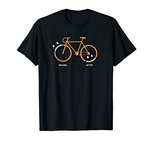 Geschenk für Radfahrer und MTB Fans: T-Shirt mit Fahrrad :)