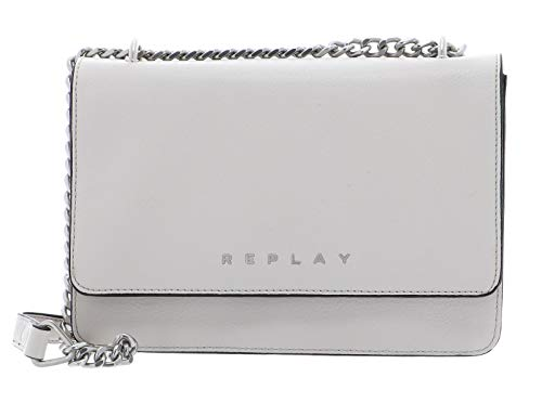 Replay Damen Fw3880.000.a0132d Clutch, Grau (Lt Grey), 7x17x25 cm