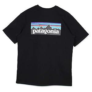 patagonia パタゴニア P-6 LOGO POCKET RESPONSIBILI TEE Tシャツ 半袖 38512 ブラック 黒 L [並行輸入品]
