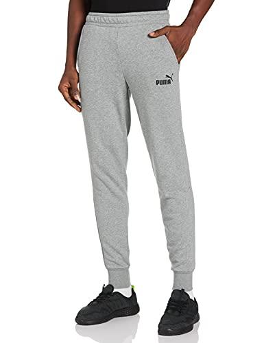Puma Herren Jogginghose, Medium Gray Heather, L