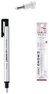 Tombow MONO Zero Eraser, Round Tip 2.3mm, Retractable, Silver Barrel & 2 Conformity Refills Value Set?With Our Shop Origin...