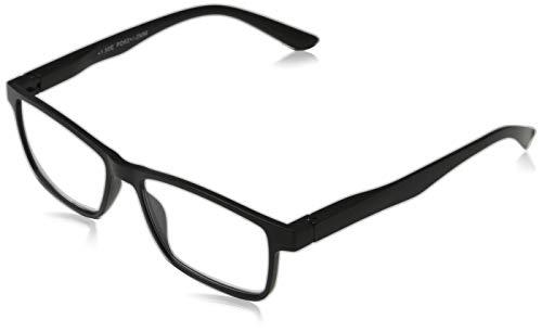 Michael Pachleitner Group Premium Clip-Lesehilfe mit Sonnenschutzclip und Federscharnier inklusive Etui, schwarz / +1.5 Dioptrien