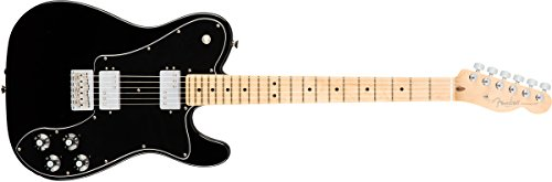 Fender エレキギター American Pro Telecaster® Deluxe ShawBucker™, Maple Fingerboard, Black