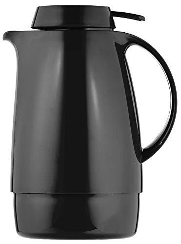 Helios Servitherm Kunststoff-Isolierkanne, schwarz, 0,6 Liter