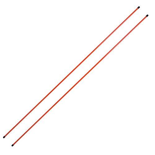 GOTOTOP Golf Swing Trainer, Golf Indikator Ausrichtungsstäbe Trainingshilfe Swing Trainer Übungswerkzeug Golf Training Equipment für Stärke und Tempo, Orange