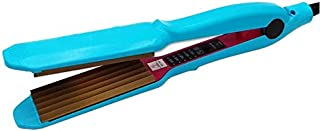 Hair Crimper Straightener Flat Iron Waver Curler Corrugated Iron for Short Long Hair Wave Curly Corn Crimping Iron Plate S...