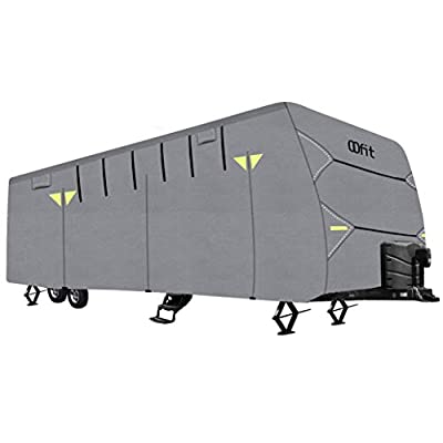 OOFIT RV Travel Trailer Cover 4-Ply Non-Woven Fabric Camper Cover