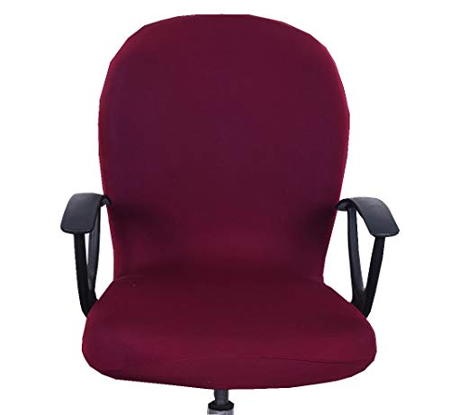 XNN Computer Office Chair Cover - Protective & Stretchable Universal Chair Covers Rotating Chair Slipcover (E)